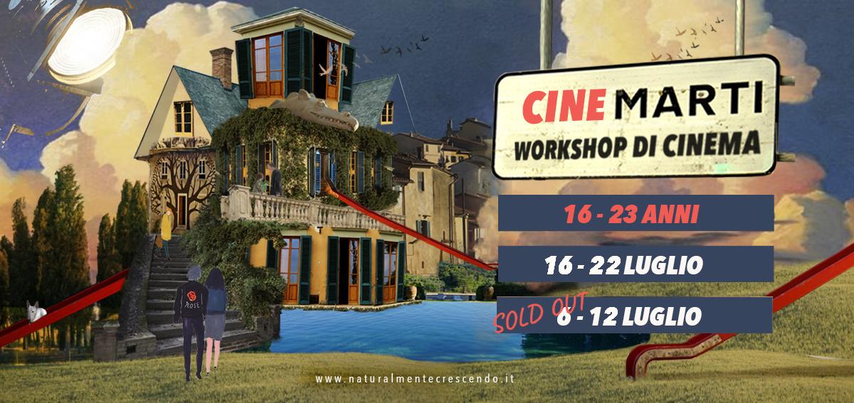 CINEMARTI – Workshop di cinema estate 2021